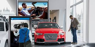 audi digital showroom showroom why panasonic digital signage solutions professional