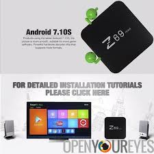android dlna z69 max android tv box android 7 1 2 bluetooth 4 1 wifi