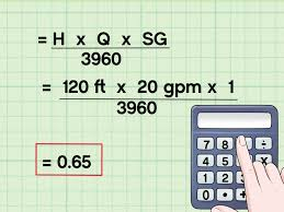 how to calculate water pump horsepower 14 steps with pictures