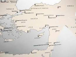 Asia Minor Map by Syria