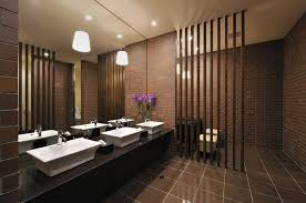 Restaurant Bathroom Design Inspiring Fine Restaurant Bathroom - Commercial bathroom design ideas