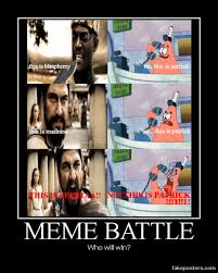 This Is Sparta Meme - this is sparta vs this is patrick meme battle by onikage108 on