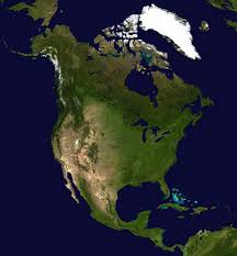 Map Of The United States In Color by North America Map And Satellite Image