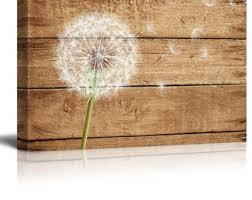 dandelion wood plaques wall dandelion wood etsy