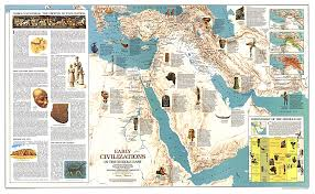 mid east map early civilizations in the middle east map