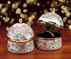 crummles floral ring box enamel eachring the cottage shop