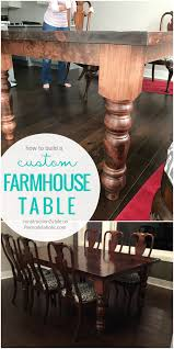 remodelaholic how to build a farmhouse style table