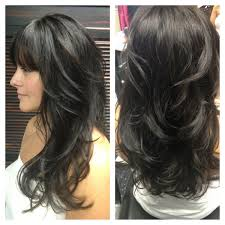 one of my clients with awesome hair goldwell color line dark