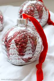 easy ornament updates make plain ornaments gorgeous small home