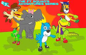Backyardigans Worm The Ft Squad U0027s Adventures Series Pooh U0027s Adventures Wiki Fandom