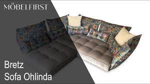 sofa bretz designermöbel sofa ohlinda bretz möbelfirst präsentiert