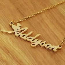 Monogram Jewlery Any Personalized Name Plates Initial Necklace Monogram Jewelry