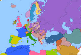map to europe berlin airlift historical atlas of europe 1 august 1948