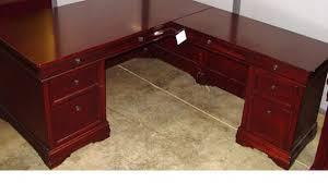 wood l great wood l shaped desk foter throughout l shaped wood desk ideas