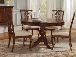 Round Dining Room Table Sets The Style Of Home Interior - Modern round dining room table