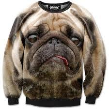 pug sweater stressed pug sweatshirt
