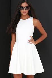 white confirmation dresses ivory dress skater dress sleeveless dress 48 00