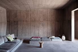 Interior Concrete Walls by Gallery Of Villa Além Valerio Olgiati 2 Villas Architecture