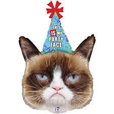 birthday balloons delivery grumpy cat party supershape balloon balloons delivered