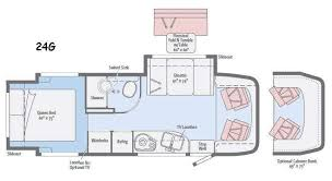 itasca rv floor plans navion motor home class c diesel rv sales 1 floorplan