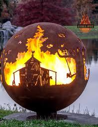 Firepit Swing by Farm Fire Pit Sphere Appel Crisp Farms The Fire Pit Gallery