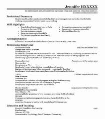 Social Work Counseling Skills List Best Adoptions Social Worker Resume Exle Livecareer