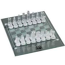 Buy Chess Set Beautiful Glass Chess Set For Your Home And Office Board Games