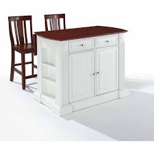 crosley furniture kitchen island white new bar stool wooden plastic kitchen seat chair breakfast