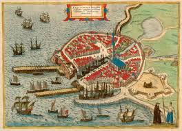 Map Of The Netherlands A Beautifull 1593 Map Of The City Of Vlissingen Flushing In The