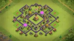 layout coc town hall level 7 what is a good base design for level 7 town hall in coc quora