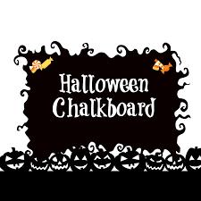 halloween chalkboard patina and paint