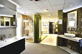 bathroom showrooms with many bathroom stuff latest home decor