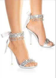 wedding shoes sandals new fashion wedding shoes silver rhinestone high heels women s
