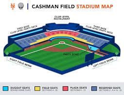 Baseball Map Cashman Field Stadium Map Las Vegas 51s Tickets