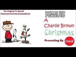 peanuts christmas soundtrack a brown christmas soundtrack hark the herald