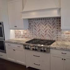 brick tile kitchen backsplash gray brick kitchen backsplash tiles design ideas
