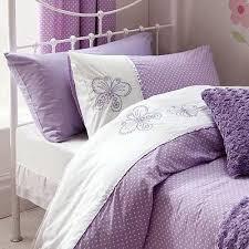 Lilac Bedding Sets Flutterbye Duvet Cover Set Lilac Co Uk Kitchen