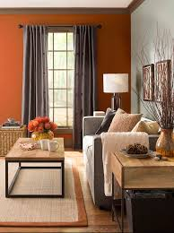 Color Home Decor Best 25 Orange Accent Walls Ideas On Pinterest Paint Ideas For