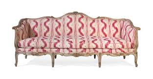 canape louis 15 a louis xv style grey painted canape by maison jansen on artnet