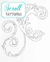 25 unique scroll pattern ideas on pinterest scroll design