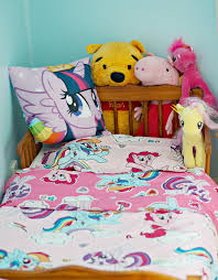 Pony Comforter My Little Pony Bedding My Little Pony Toddlercot Bed Reversible