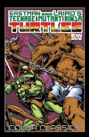 teenage mutant ninja turtles color classics volume comic vine