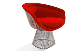 platner lounge chair hivemodern com