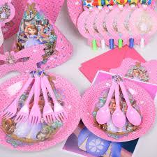 Princess Themed Invitation Card 10pcs 14 11cm Princess Sofia Paper Invitation Cards Kids Favors
