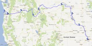 Seattle Google Map by Eric Struckhoff U2013 Lawrence To Lemhi And Beyond A Two Wheeled