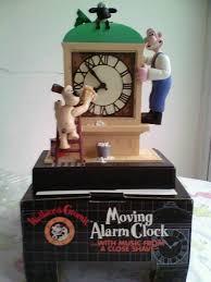 Barwick Clocks Wallace U0026 Gromit Alarm Clock Rare In Ingleby Barwick County