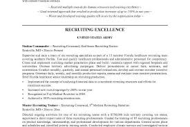 Hr Recruitment Resume Sample by Recruiter Resume Sample Microsoft Word Jk Military Recruiter Jesse