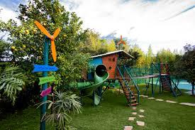 un jardín a prueba de niños traviesos child friendly garden