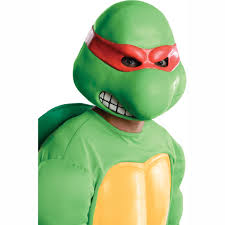 Ninja Turtle Womens Halloween Costumes Teenage Mutant Ninja Turtles Raphael Overhead Latex