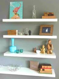 bathroom charming neat floating shelf decorating ideas wall